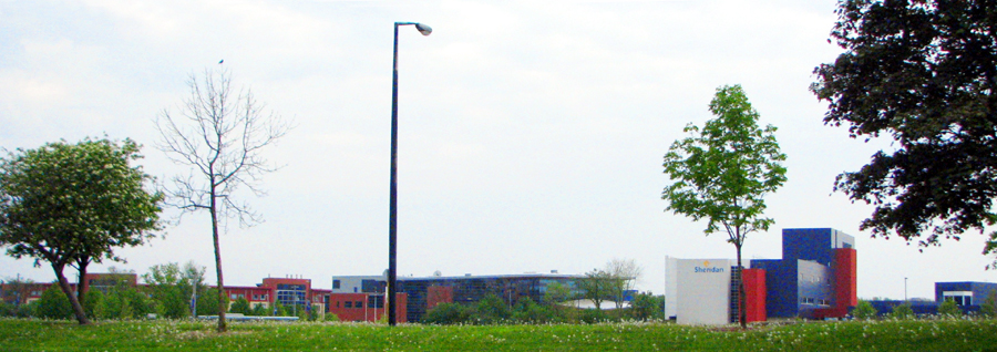 Sheridan Campus as seen from Trafalgar Road