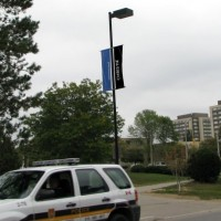 "Now reads ""Christie"" instead of Waterloo on the flag, University of Waterloo text removed from the vehicle"